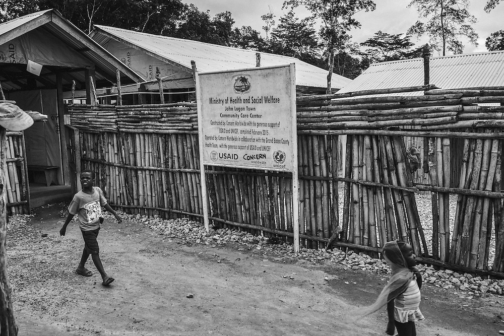 Community Health Centre, John Logan Town. Liberia.