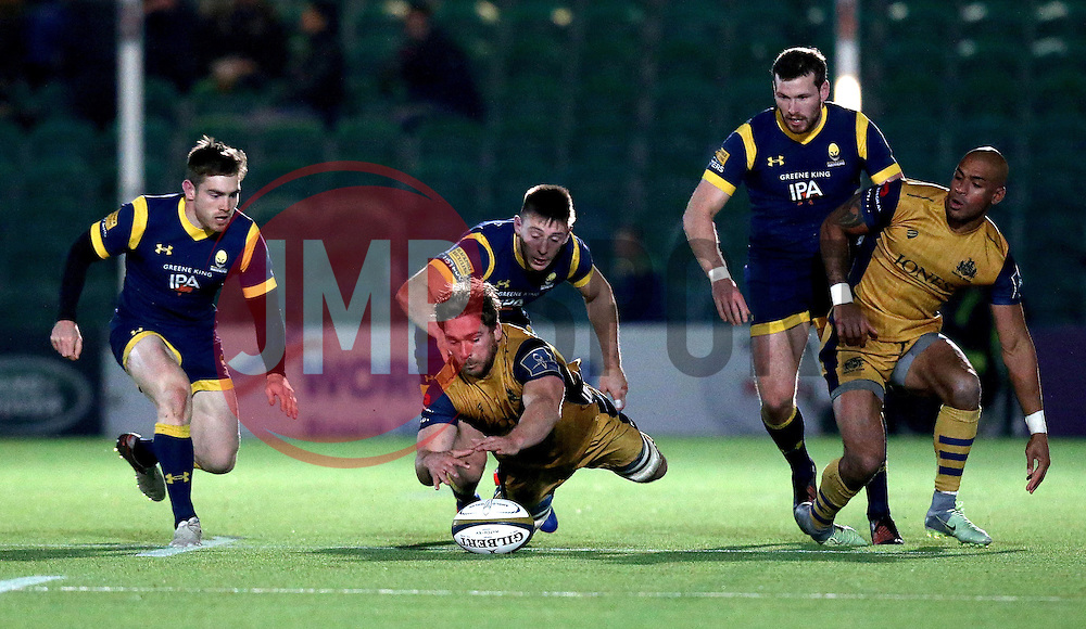 - Mandatory by-line: Robbie Stephenson/JMP - 04/11/2016 - RUGBY - Sixways Stadium - Worcester, England - Worcester Warriors v Bristol Rugby - Anglo Welsh Cup