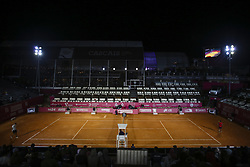 May 3, 2018 - Estoril, Portugal - General view of the pitch during the game of Ricardo Ojeda Lara and Nicolas Jarry during the Millennium Estoril Open tennis tournament in Estoril, outskirts of Lisbon, Portugal on May 1, 2018  (Credit Image: © Carlos Costa/NurPhoto via ZUMA Press)