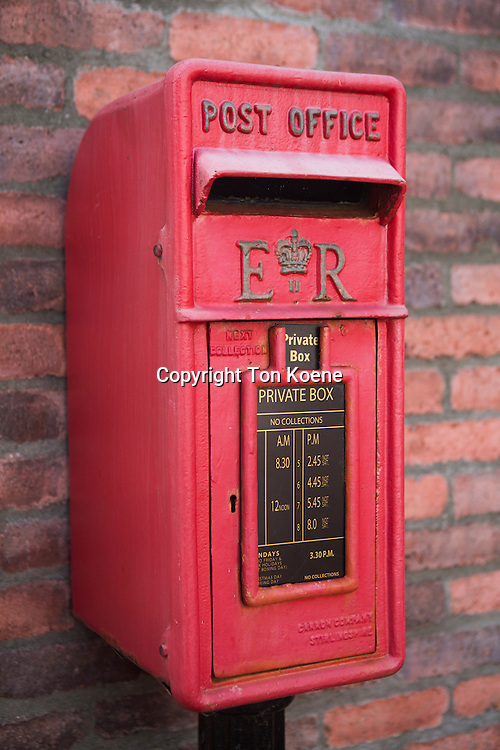 old postbox in Northern Ireland