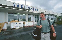 J. NIchols At Yakushima Airport