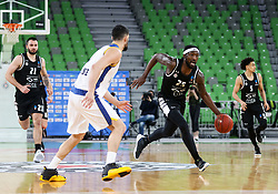 Thomas  Rashawn of Partizan NIS during basketball match between KK Partizan NIS Belgrade (SRB) and Boulogne Metropolitans 92 (FRA) in Top 16 Round 6 of 7DAYS Eurocup 2020/21, on March 10, 2021 in Arena Stozice, Ljubljana, Slovenia. Photo by Vid Ponikvar / Sportida