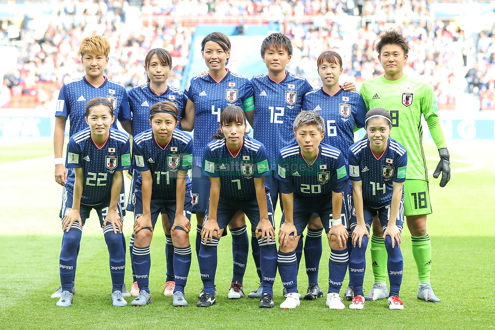 June 10, 2019: Paris, France: Players of Japan during match against Argentina game valid for group D of the first phase of the Women's Soccer World Cup in the Parc Des Princes. (Credit Image: © Vanessa Carvalho/ZUMA Wire)