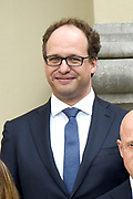 Het nieuwe kabinet Rutte III op het bordes van Paleis Noordeinde. <br /> <br /> Op de foto:  Wouter Koolmees - minister Sociale Zaken