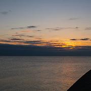 Today's  winter sunrise at Narragansett Town Beach,  .  March  2, 2013.