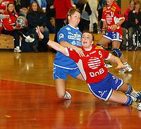 Håndball, damer, Trondheim 04.02.04, Byåsen - Selbu 33-19, Kari Marie Aftret Ready, Byåsen<br />Foto: Carl-Erik Eriksson, Digitalsport