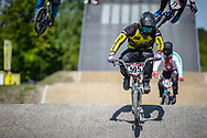 #595 (MOLINA Gonzalo) ARG during practice of Round 3 at the 2018 UCI BMX Superscross World Cup in Papendal, The Netherlands