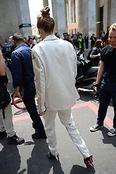Gigi Hadid Arrive at Heron Preston show. Paris, France on June 18th, 2019. AbacaPress