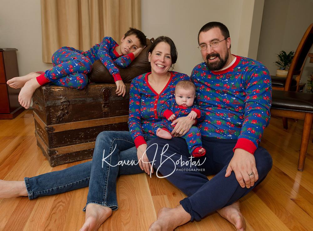 Colby family.  ©2015 Karen Bobotas Photographer