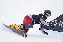Milena Bykova (RUS) during Final Run at Parallel Giant Slalom at FIS Snowboard World Cup Rogla 2019, on January 19, 2019 at Course Jasa, Rogla, Slovenia. Photo byJurij Vodusek / Sportida