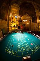Roulette table,  Florentina Salon, Casino Baden Baden, Baden Baden, Baden-Württemberg, Germany