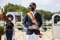 Podium juniors, Guisson Tristan<br /> Belgisch Kampioenschap Jeugd Azelhof - Lier 2020<br /> © Hippo Foto - Dirk Caremans<br /> 02/08/2020