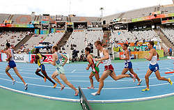 Bostjan Buc of Slovenia competes in the Mens 3000m Steeplechase Heat during day four of the 20th European Athletics Championships at the Olympic Stadium on July 30, 2010 in Barcelona, Spain.  (Photo by Vid Ponikvar / Sportida)