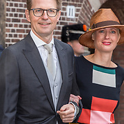 NLD/Den Haag/20190917 - Prinsjesdag 2019, Sander Dekker en partner
