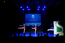 Dancers perform at Slovenian Tennis personality of the year 2016 annual awards presented by Slovene Tennis Association Tenis Slovenija, on December 7, 2016 in Siti Teater, Ljubljana, Slovenia. Photo by Vid Ponikvar / Sportida