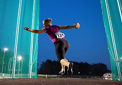 Veronika Domijan of Slovenia competes at Women discus during 20th European Athletics Classic Meeting in Honour of Miners' Day in Velenje on July 1, 2015 in Stadium Velenje, Slovenia. Photo by Vid Ponikvar / Sportida