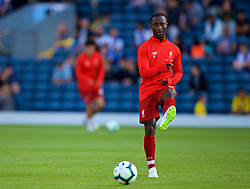 BLACKBURN, ENGLAND - Thursday, July 19, 2018: Liverpool's Naby Keita during the pre-match warm-up before a preseason friendly match between Blackburn Rovers FC and Liverpool FC at Ewood Park. (Pic by Paul Greenwood/Propaganda)