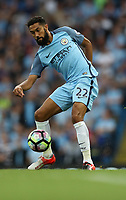 Football - Gael Clichy of Manchester City during the match at the Etihad Stadium between Manchester City and West Ham United. <br /> <br /> 2016 / 2017 Premier League - Manchester City vs. West Ham United<br /> <br /> -- at The Etihad Stadium.<br /> <br /> COLORSPORT/LYNNE CAMERON