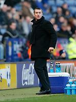 Photo: Steve Bond/Richard Lane Photography. Leicester City v Huddersfield Town. Coca Cola League One. 24/01/2009. Lee Clark is not happy
