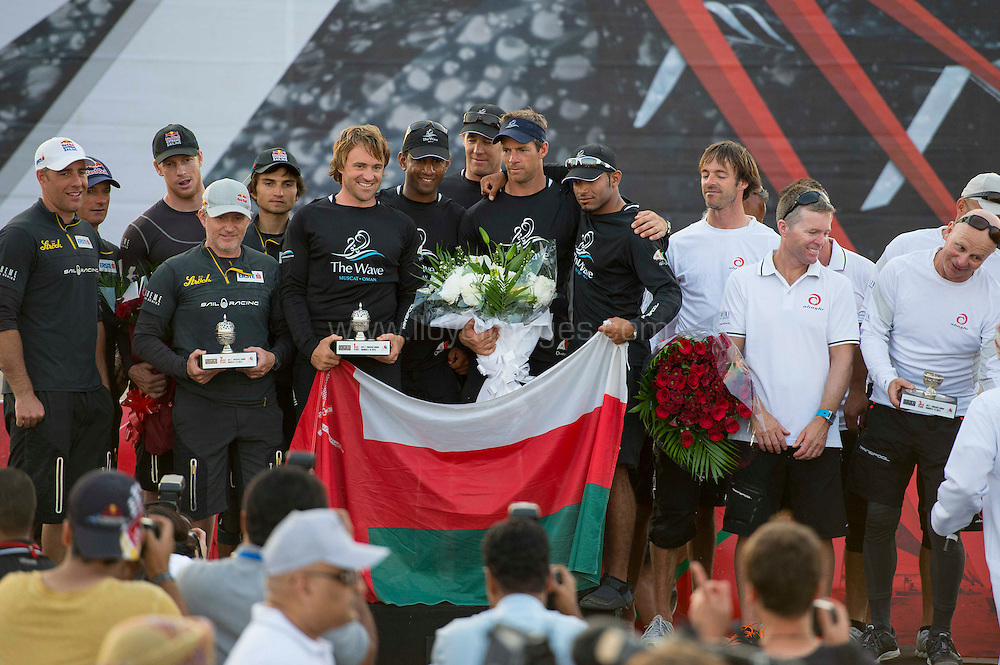 EXTREME SAILING SERIES 2013 - ROUND ONE - MUSCAT - 5>8 MARCH 2013 - PHOTO: VINCENT CURUTCHET / DARK FRAME / LLOYD IMAGES