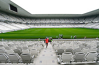 Vue interieur nouveau Stade de Bordeaux - 23.03.2015 - Visite du Stade de Bordeaux -<br /> Photo : Caroline Blumberg / Icon Sport *** Local Caption ***