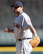 CHICAGO - APRIL 09:  Joba Chamberlain #62 of the Cleveland Indians looks on against the Chicago White Sox on April 9, 2016 at U.S. Cellular Field in Chicago, Illinois.  The White Sox defeated the Indians 7-3.  (Photo by Ron Vesely)  Subject: Joba Chamberlain