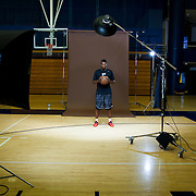 """Shabazz Muhammad was the top recruit in the nation coming out of high school. He played for the UCLA Bruins for one year before declaring for the NBA draft. Photographed for Sports Illustrated. Search my site for """"Shabazz"""" for more photos and portraits."""