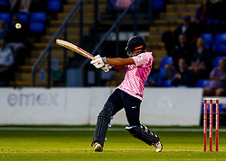 Dawid Malan of Middlesex hits a boundary<br /> <br /> Photographer Simon King/Replay Images<br /> <br /> Vitality Blast T20 - Round 4 - Glamorgan v Middlesex - Friday 26th July 2019 - Sophia Gardens - Cardiff<br /> <br /> World Copyright © Replay Images . All rights reserved. info@replayimages.co.uk - http://replayimages.co.uk