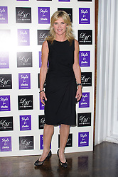 Anthea Turner at Style for Stroke - launch party held at No. 5 Cavendish Square, London, England, October 2, 2012. Photo by Chris Joseph / i-Images.