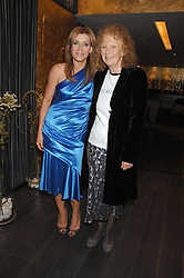 Left to right, actress MICHELLE COLLINS and MARY WARD co-founder and Artistic Director of Chickenshed at a lunch in aid of Chickenshed showcasing Ben de Lisi's Spring Summer and Autumn 2007 Collections held at the Baglioni Hotel, 60 Hyde Park gate, London SW7 on 24th April 2007.<br /><br />NON EXCLUSIVE - WORLD RIGHTS