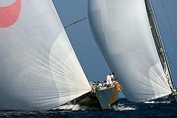 08_022414 © Sander van der Borch. Porto Cervo,  2 September 2008. Maxi Yacht Rolex Cup 2008  (1/ 6 September 2008). Day 2.