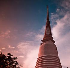 Prayurawongsawat Temple, Bangkok, Thailand