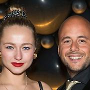 NLD/Amsterdam//20140329 - Emma Fund Raising 2014, Caroline Spoor en partner Jon Karthaus