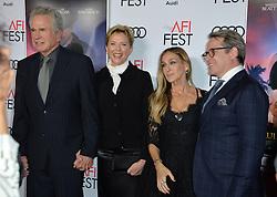 Warren Beatty, Annette Bening, Sarah Jessica Parker & Matthew Broderick bei der Premiere von Rules Don't Apply in Hollywood<br /> <br /> / 101116<br /> <br /> ***Premiere of Rules Don't Apply in Hollywood in november 10, 2016***