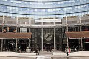 Milan, architecture in Porta Nuova