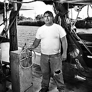 """Murvin Gaspard is fifth generation shrimper from Cut Off Louisiana. """"I'm just frustrated at the situation,"""" he says. """"We're struggling - we've been hit by so many things. Last year was a record Low Volume - This was supposed to be a new beginning - looked to be a good year...My whole life is wrapped up in this. I have 20k invested in this season - and now it might be gone..."""" The region and its residents have been preparing for the growing oil spill in the Gulf of Mexico after the Deepwater Horizon disaster. ltqmb """"Murvin"""""""