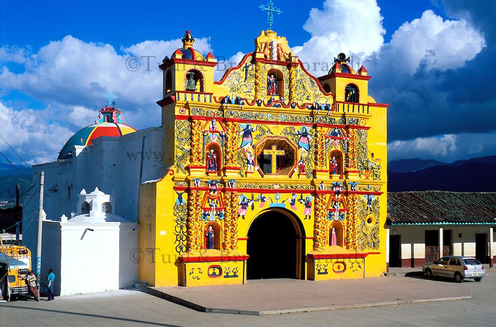 Guatemala - Eglise de San Andrés Xecul
