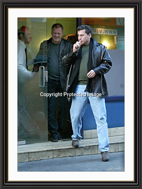 STARSKY & HUTCH Soho London 29/10/2003 large A2 Museum-quality Archival signed Framed Photograph  (A2)