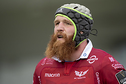 September 22, 2018 - Galway, Ireland - Jake Ball of Scarlets looks on during the Guinness PRO14 match between Connacht Rugby and Scarlets at the Sportsground in Galway, Ireland on September 22, 2018  (Credit Image: © Andrew Surma/NurPhoto/ZUMA Press)
