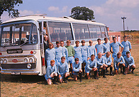 Fotball <br /> Coventry<br /> Foto: Colorsport/Digitalsport<br /> NORWAY ONLY<br /> <br /> 1969 / 1970 Coventry City Photocall<br /> <br /> Coventry team group with their new coach.<br /> <br /> Back (left to right): Ernie Machin, Mick Coop, George Curtis, Bill Glazier, Brain Hill, Trevor Gould, Graham Paddon, Neil Martin, Chris Cattlin, Tony Hateley, Jeff Blockley. <br /> <br /> Front: Willie Carr, Ian Gibson, Gerry Baker, Dietmar Bruck, Dave Clements, Maurice Setters, Ernie Hunt, Ernie Hannigan.