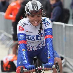 29-02-2020: Wielrennen: Omloop Nieuwsblad: Ninove: Maelle Grossetette