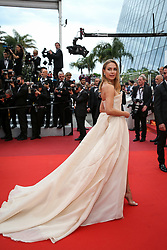 Kimberley Garner attends the screening of A Hidden Life (Une Vie Cachee) during the 72nd annual Cannes Film Festival on May 19, 2019 in Cannes, France. Photo by Shootpix/ABACAPRESS.COM