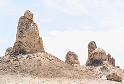 Tufa Spires against sky