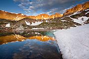 Sunrise in the Sawatch Range, near Alma, Colorado.