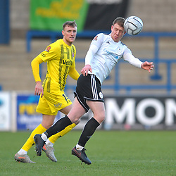 TELFORD COPYRIGHT MIKE SHERIDAN Jack Byrne of Telford during the Vanarama Conference North fixture between AFC Telford United and AFC Fylde at the New Bucks Head Stadium on Saturday, January 9, 2020.<br /> <br /> Picture credit: Mike Sheridan/Ultrapress<br /> <br /> MS2021-054
