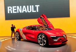 Renault,Dezir,concept,at the Geneva Motor Show 2011 Switzerland