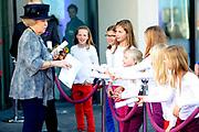 Prinses Beatrix opent nieuwbouw St. Antonius Ziekenhuis in de Utrechtse wijk Leidsche Rijn.<br /> <br /> Princess Beatrix opens new St. Antonius Hospital in Utrecht Leidsche Rijn.<br /> <br /> Op de foto / On the photo: <br /> <br />  Prinses Beatrix vertrekt / Princes Beatrix Leaves