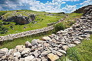 Photo of  the  Palace Walls to the Hittite capital Hattusa 2