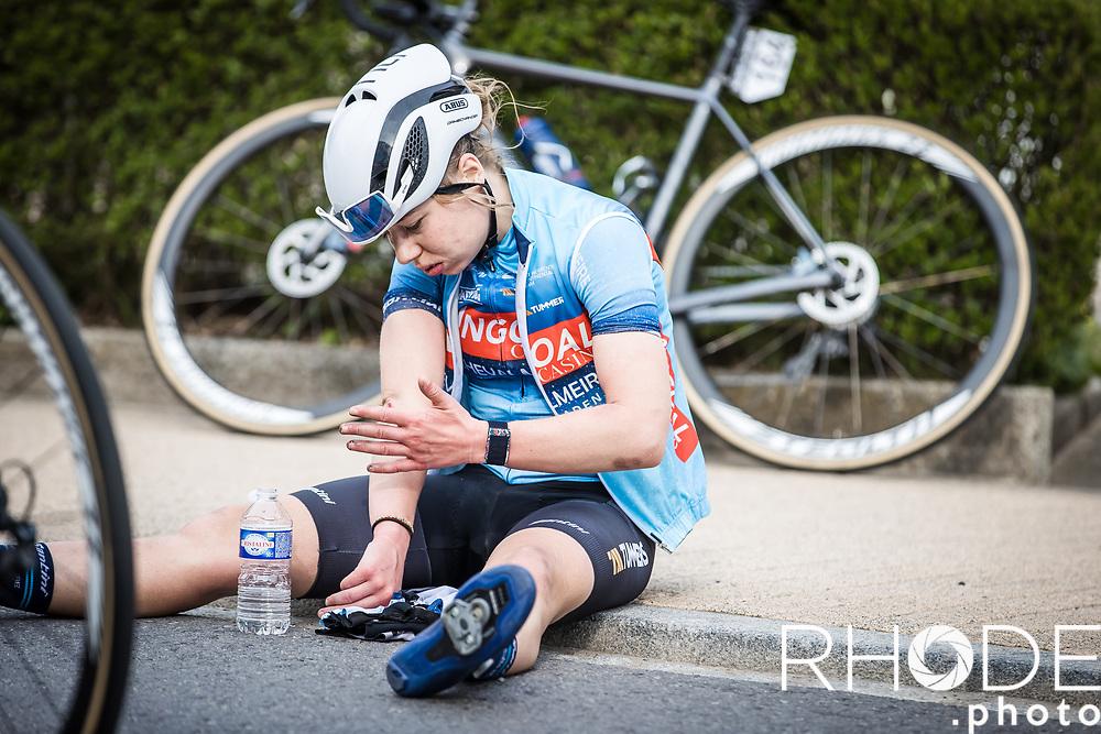 Justine Gekhiere (BEL/Bingoal Casino)<br /> <br /> Ceratizit Festival Elsy Jacobs (LUX) 2021<br /> UCI Women Elite 2.1<br /> Day 2 – stage : Steinfort >Steinfort 125.1km  <br /> <br /> ©RhodePhoto