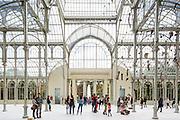 Palacio de Cristal | Ricardo Velázquez Bosco |  Madrid, Spain